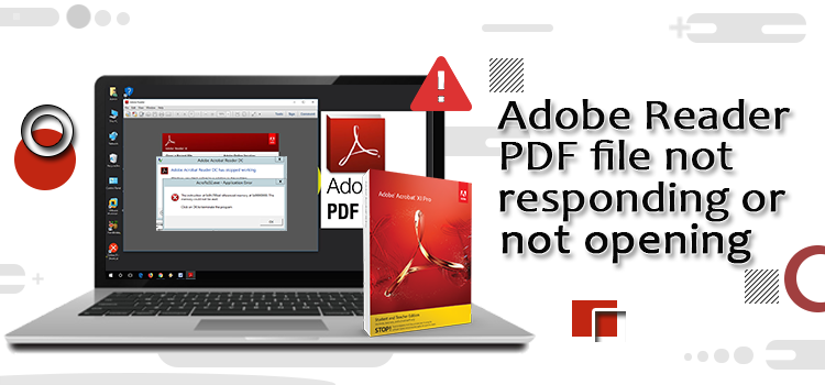 Adobe reader not responding